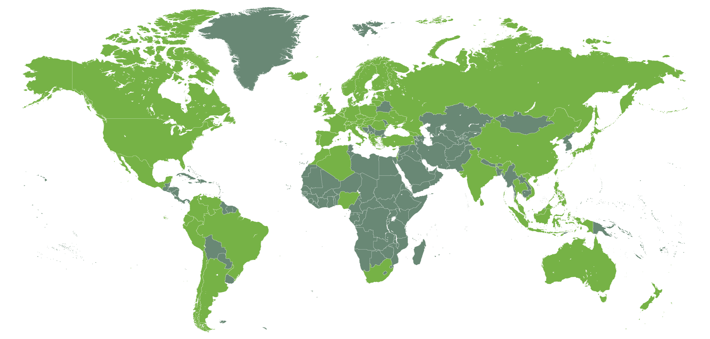 LoopUp coverage map