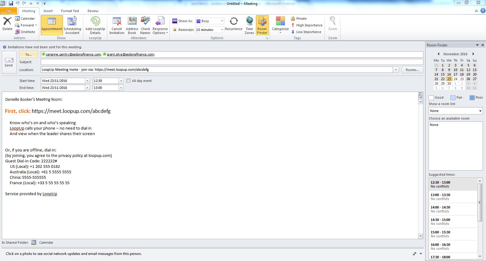 Loopup Basics Loopup For Outlook Tm Loopup
