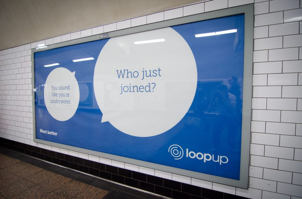 loopup london underground campaign st pauls who joined