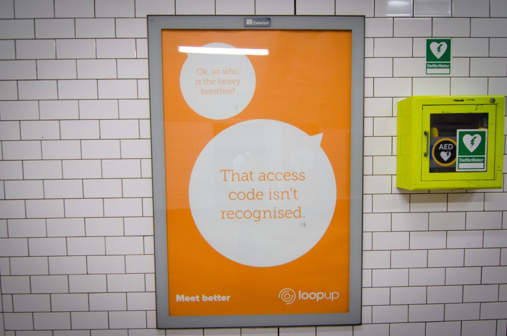 loopup london underground campaign access code st pauls