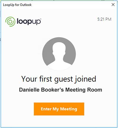 loopup call start alerts