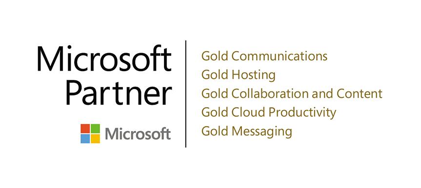 LoopUp Microsoft gold Accreditation Logo