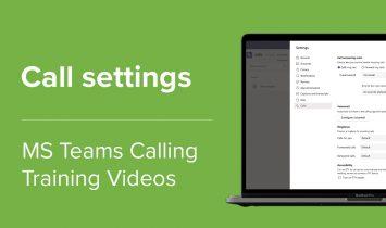 Call settings website