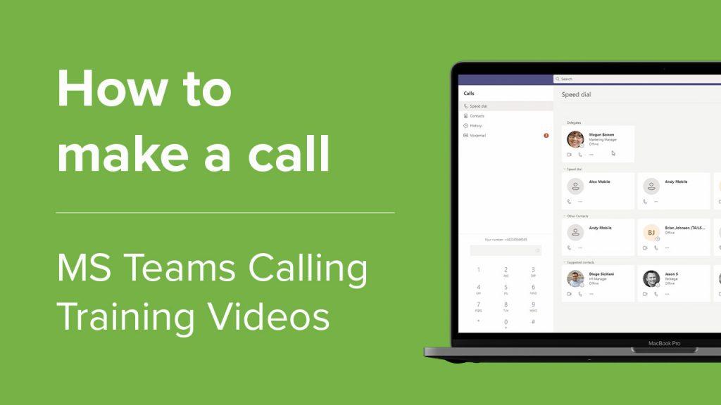 Make a call website